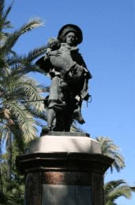 Estatua de don Miguel Mañara